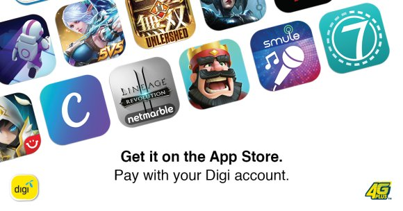 Digi Carrier Billing Apple App Store