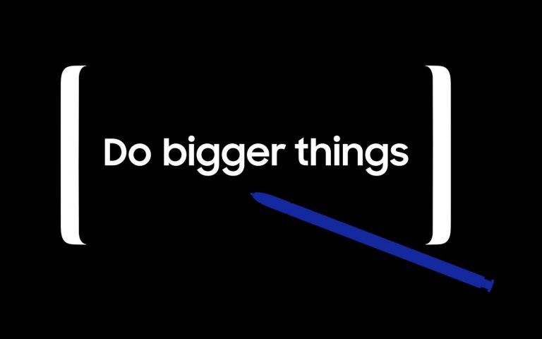 Samsung wants you to do bigger things with the Galaxy Note8