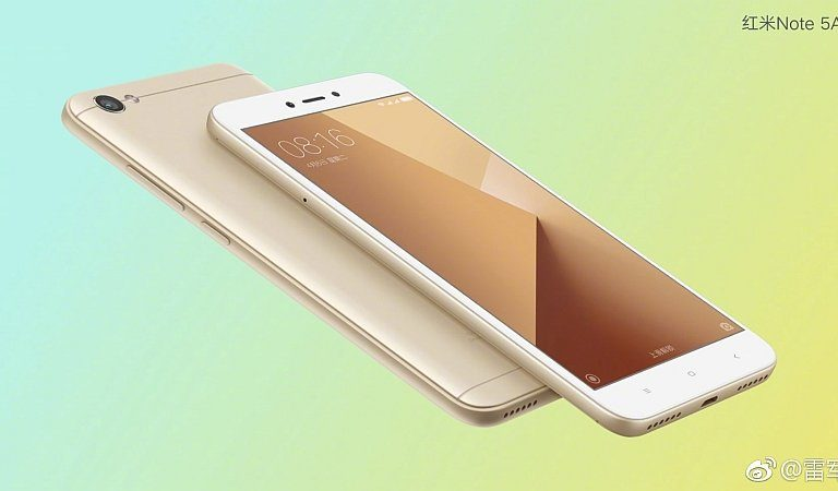 Redmi Note 5A is Xiaomi's entry level 5.5″ smartphone