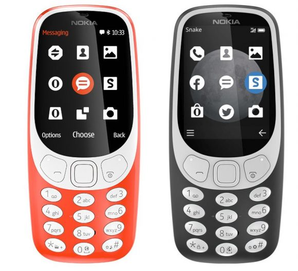 nokia 3310 3g. with added 3g radios, it can deliver faster internet experience while maintaining a long battery life. according to the spec-sheet, nokia 3310 has 3g