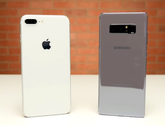 iPhone 8 Plus vs Galaxy Note8