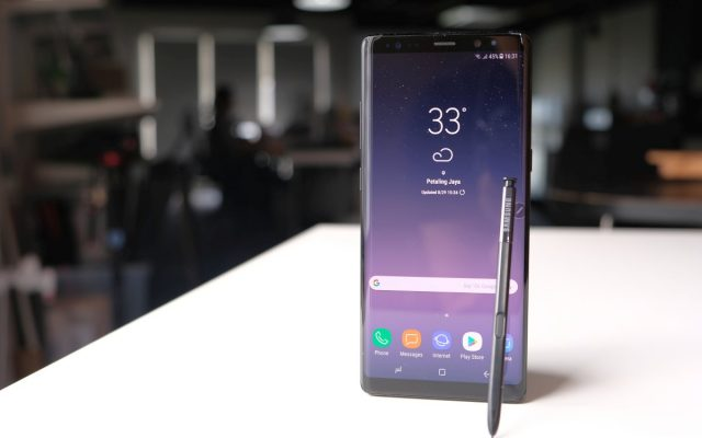 Samsung starts rolling out Android Oreo update for the Galaxy Note8