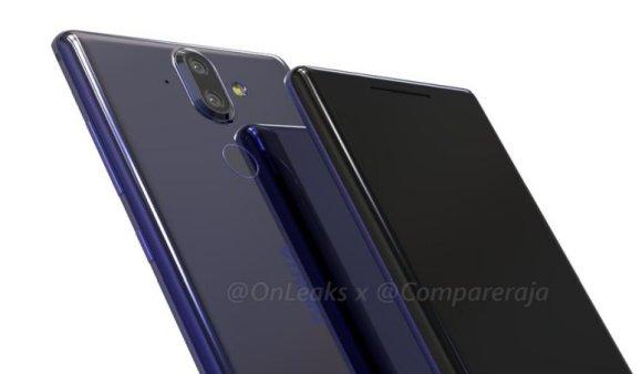 Nokia 9 Onleaks Render