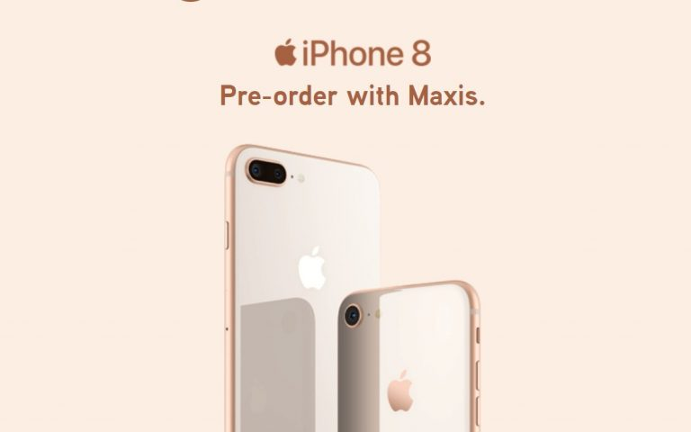 Maxis offers the iPhone 8 from RM1,970