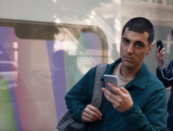 Samsung iPhone X grow up ad