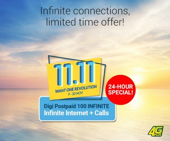 Digi Unlimited RM100 plan