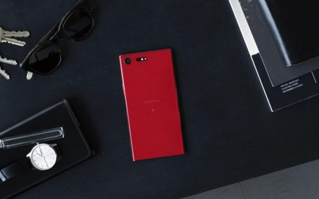 "The Sony Xperia XZ Premium is now available in ""Rosso"" red"