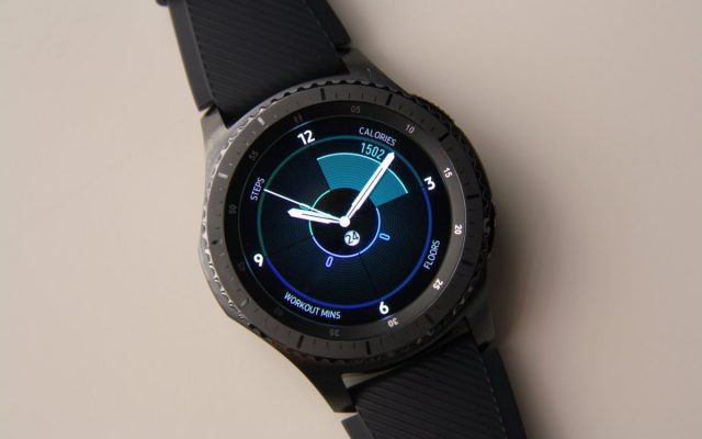 Here's an early peek at the new Samsung Galaxy smartwatch