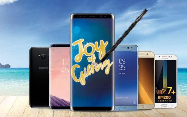 Samsung's year end promo's giving away AirAsia X airfare discounts and lots of freebies