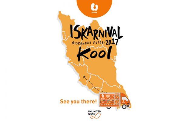 U Mobile is kicking off their Unlimited Flavours food truck at Iskarnival Kool 2017