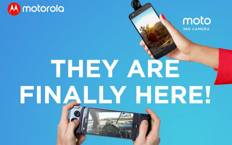 Motorola's 360 camera and Game Pad Moto Mods have landed in Malaysia