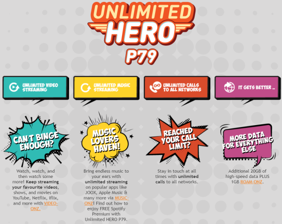 U Mobile's new Unlimited Hero P79 Postpaid comes with free