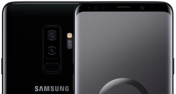 Samsung Galaxy S9 High-res render
