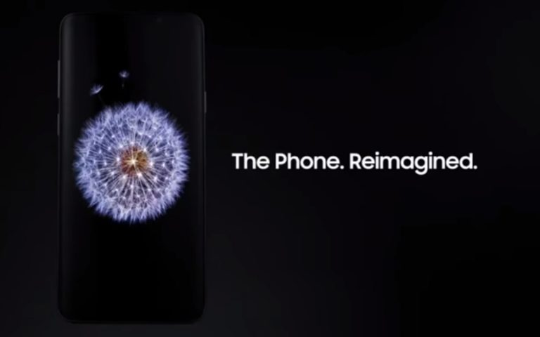 This is the Samsung Galaxy S9's launch video