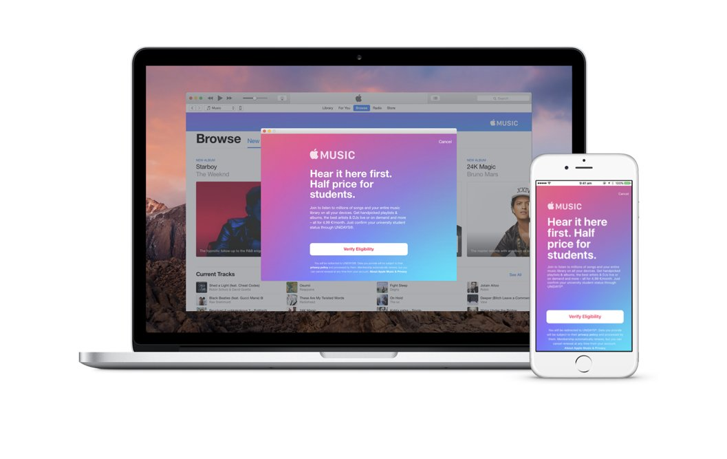 If you're a student at a degree-granting university or college 1, you can join Apple Music for a discounted membership price 2 for up to 48 months (4 years). The time does not need to be continuous. The Apple Music Student subscription is only available in certain countries and regions. Learn more about Apple Music availability.