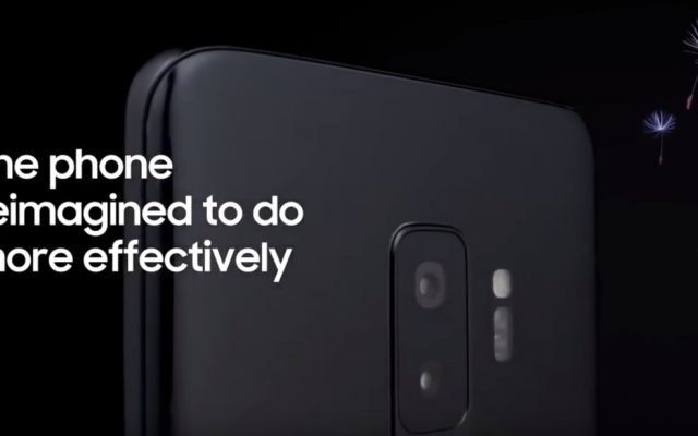 With the Galaxy S9, Samsung wants to fill the hole left by BlackBerry