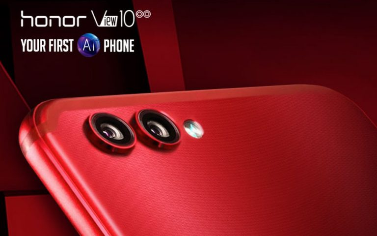 Honor View10 Crush Red Edition is now available for pre-order