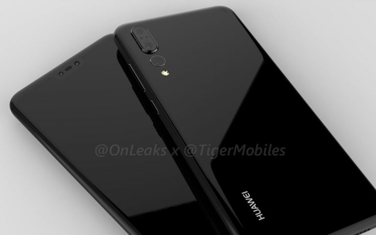 Huawei's upcoming P-series flagship looks heavily inspired by the iPhone X