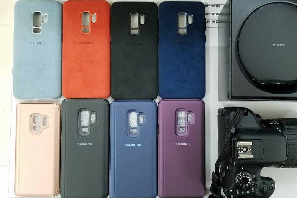 brand new f2282 90633 Official Samsung Galaxy S9/S9+ cases leaked ahead of launch ...