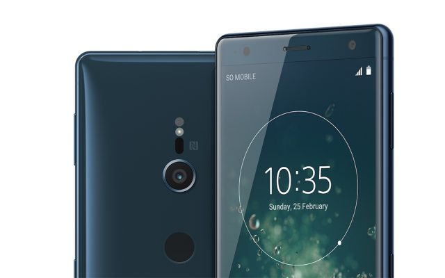 Sony Xperia XZ2 and XZ2 Compact are the world's first smartphones with 4K HDR video recording