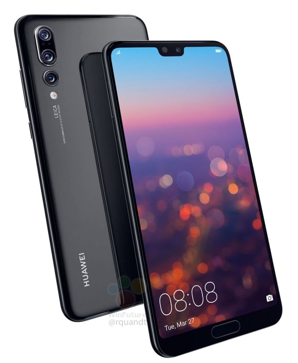 Huawei P20 European prices and specs leak out, 128GB storage as standard