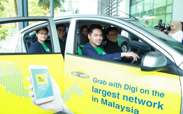 Grab riders will enjoy HD entertainment on tablets powered by Digi 4G Plus network