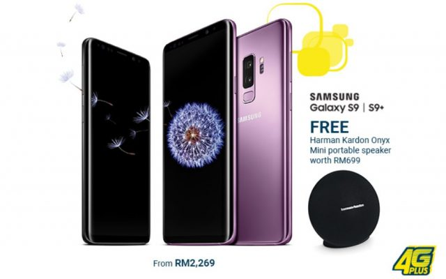 The Samsung Galaxy S9 can be yours from RM2,269 on Digi Postpaid