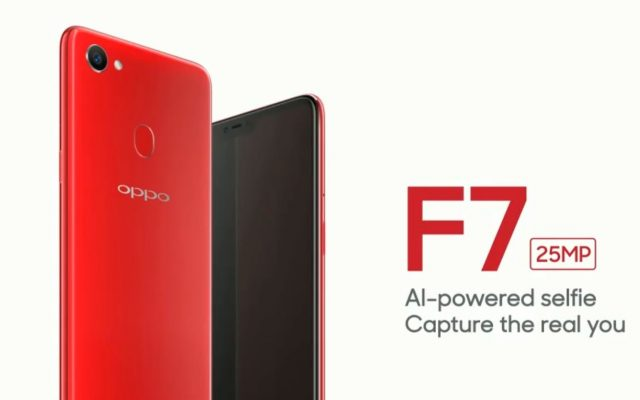 These are the purported specs of the OPPO F7 with a 25MP selfie camera