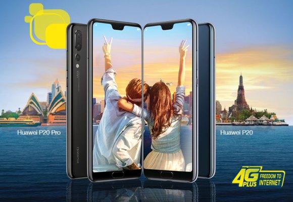 Huawei P20 Digi Malaysia