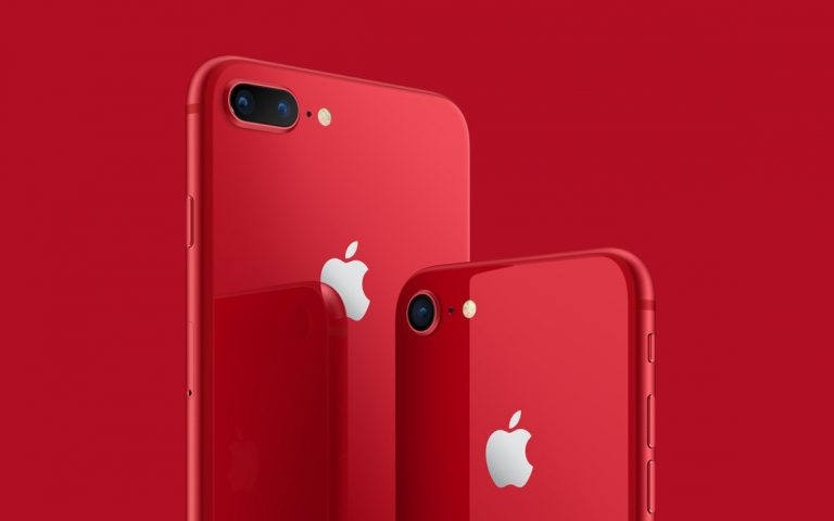 You can order the RED iPhone 8 and get a red case for free