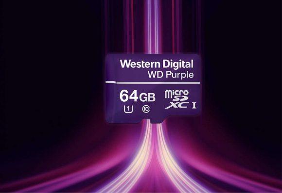 WD microSD surveillance