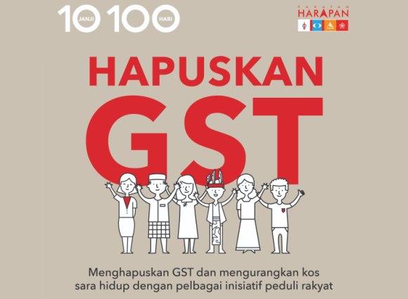 Abolish GST Malaysia 2018