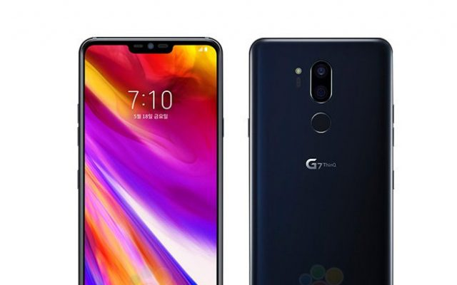 The LG G7 ThinQ has a higher resolution screen than the Galaxy S9+