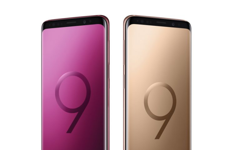 Samsung introduces new colours for the Galaxy S9 and S9+
