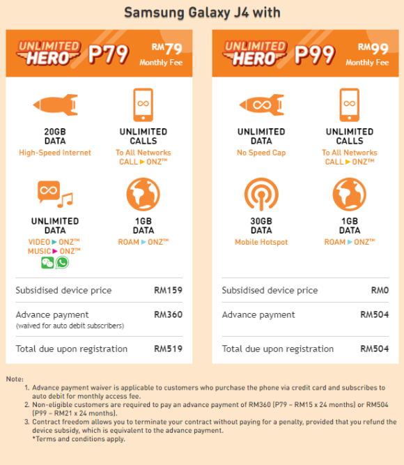 You can get a free phone with U Mobile's Unlimited Data