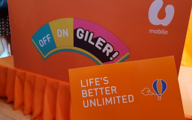 U Mobile Giler Unlimited Plans offer unlimited data from RM30/month
