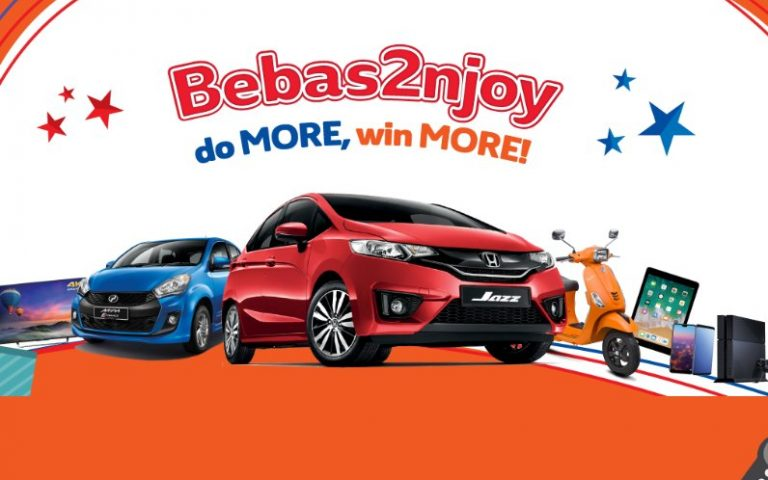 Stand a chance to win a Honda Jazz when you reload and buy data on Unifi Mobile
