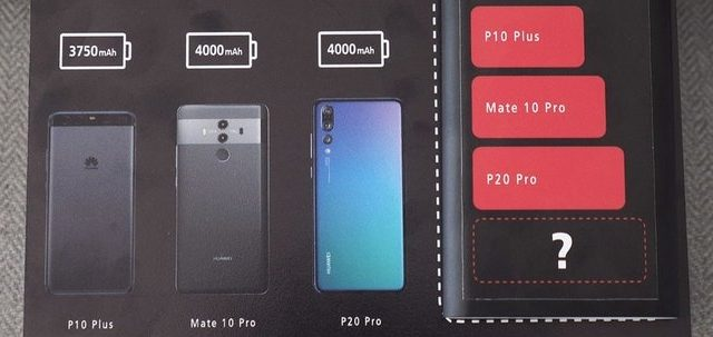 Huawei's Mate 20 Pro will have a bigger battery than the Galaxy Note9