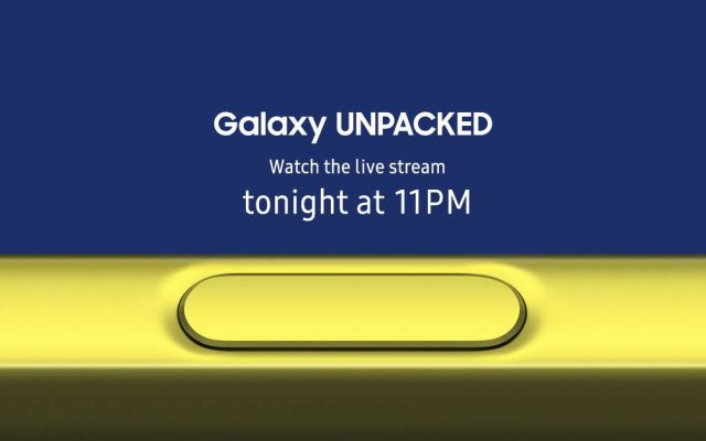 Here's how you can watch the Samsung Galaxy Note9 launch