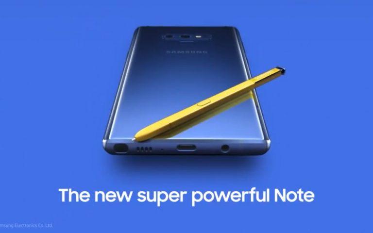 The Samsung Galaxy Note9 will launch in Malaysia next week