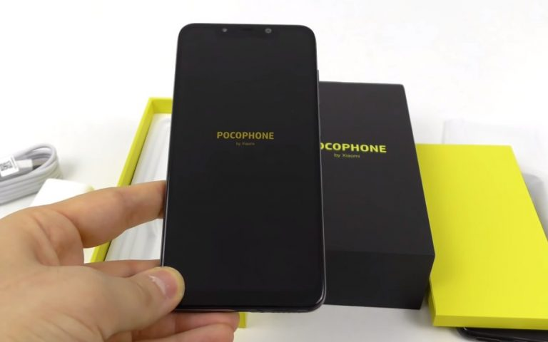Xiaomi's Pocophone F1 gets unboxed ahead of launch