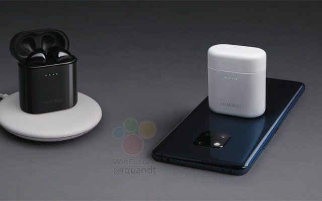 The Huawei Mate 20 Pro also doubles as a wireless charger