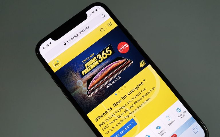 Digi's PhoneFreedom 365 plan for iPhone XS is misleading