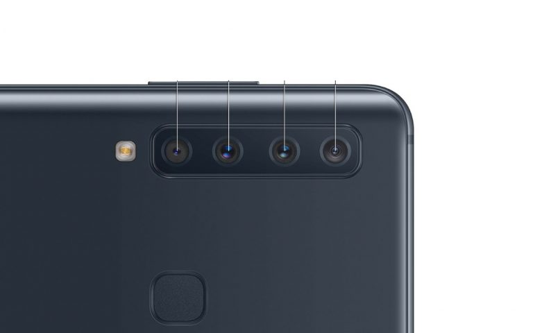 Here's a peek at Samsung's new Galaxy A smartphone with four rear cameras