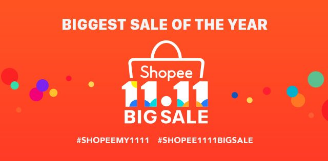 Pay no SST when you shop at Shopee this 11.11 Single's Day