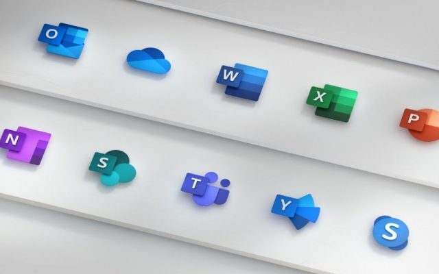 Microsoft is very proud of their new redesigned Office icons