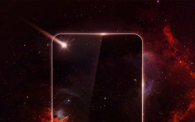 Samsung may not be the first to release a full screen smartphone with a cut out camera hole