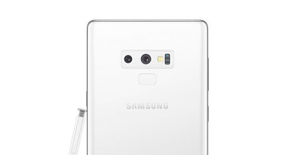 White Galaxy Note9