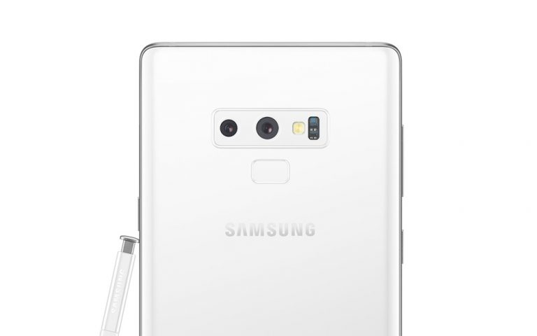 Samsung to release a white Galaxy Note9 soon?