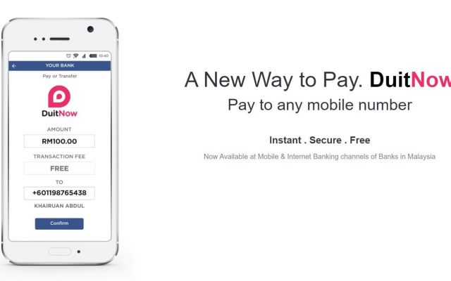 DuitNow: The service that let's you transfer funds using mobile numbers instead of bank account numbers, is now open to public